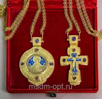 Крест и панагия. Двойник (арт.26133)