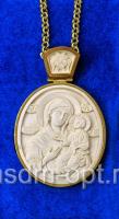 Панагия. Иверская икона Божией Матери (арт.24545)