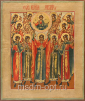 Собор Архангела Михаила, икона (арт.00177)