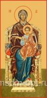 Божия Матерь на Престоле, икона (арт.00201)