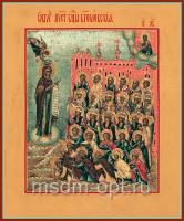 Боголюбская икона Божией Матери (арт.02074)