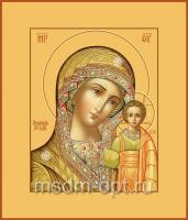 Казанская икона Божией Матери, размер 240 х 300 мм, ковчег (арт.97-00210)