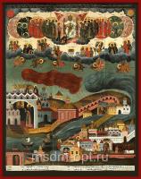 Видение Хутынского пономаря Тарасия, икона (арт.03514)