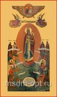 Всех скорбящих Радость икона Божией Матери (арт.00379)