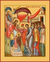 Введение во храм Пресвятой Богородицы, икона (арт.04602)