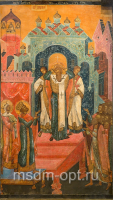 Воздвижение Честного и Животворящего Креста Господня, икона (арт.04653)