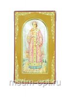 Димитрий Угличский благоверный царевич, икона. Миниатюра на перламутре (арт.38932)