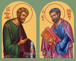 Варфоломей и Варнава апостолы, икона (арт.06050)