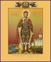 Александр Невский благоверный князь, икона (арт.06083)