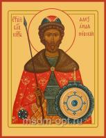 Александр Невский благоверный князь, икона (арт.06093)