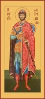 Александр Невский благоверный князь, икона (арт.06402)