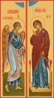 Благовещение Пресвятой Богородицы, иконы на Царские Врата (арт.6653)