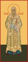 Алексий, митрополит Московский, святитель, чудотворец, икона (арт.06757)