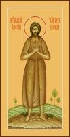 Алексий, человек Божий преподобный, икона  (арт.06822)