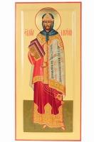Моисей пророк, икона писаная, 50х24см