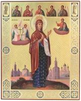 Боголюбская икона Божией Матери (арт.24277)
