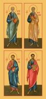 Евангелисты, иконы на Царские Врата (арт.6071-74)