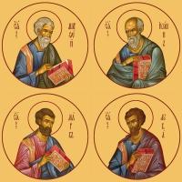 Евангелисты, иконы на Царские Врата (арт.462-65)
