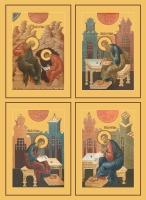 Евангелисты, иконы на Царские Врата (арт.468-71)