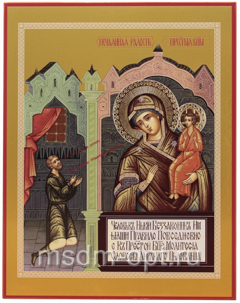 Нечаянная радость икона Божией Матери (арт.00265)