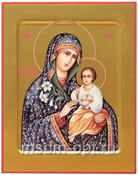 Неувядаемый Цвет икона Божией Матери. Ковчег