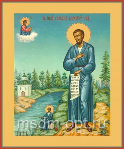 Симеон Верхотурский праведный, икона (арт.002)