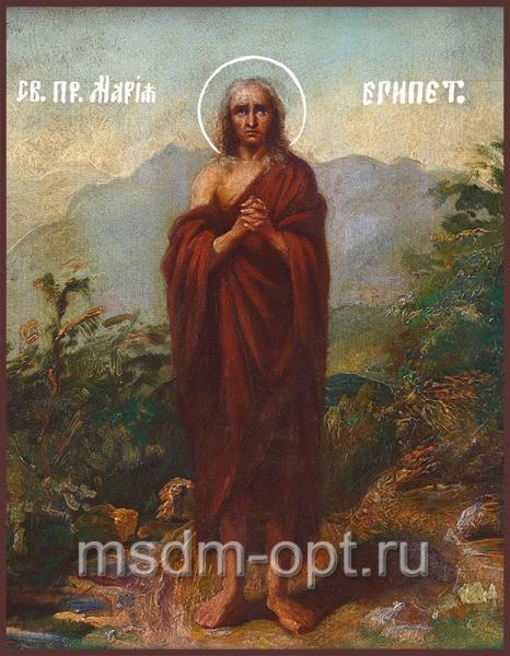 Мария Египетская преподобная, икона (арт.011)