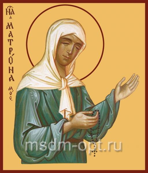 Матрона Московская блаженная, икона (арт.015)