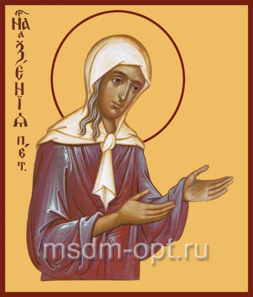 Ксения Петербургская блаженная, икона (арт.016)