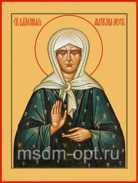 Матрона Московская блаженная, икона (арт.017)