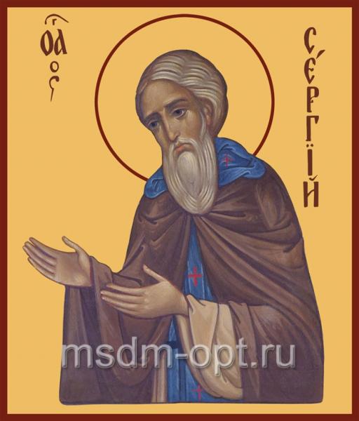 Сергий Радонежский преподобный, икона (арт.019)