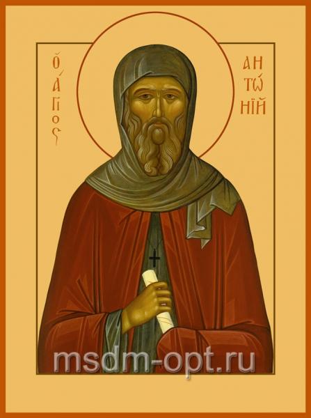 Антоний Великий преподобный, икона (арт.024)