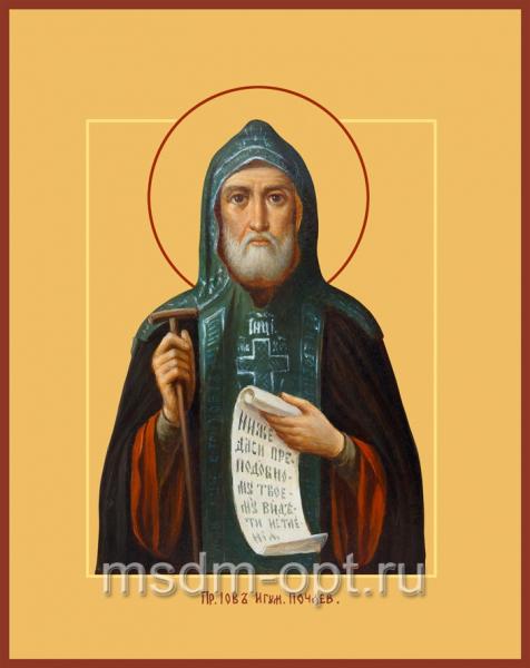 Иов Почаевский преподобный, икона (арт.029)