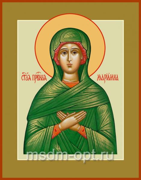 Мариамна праведная, икона (арт.030)