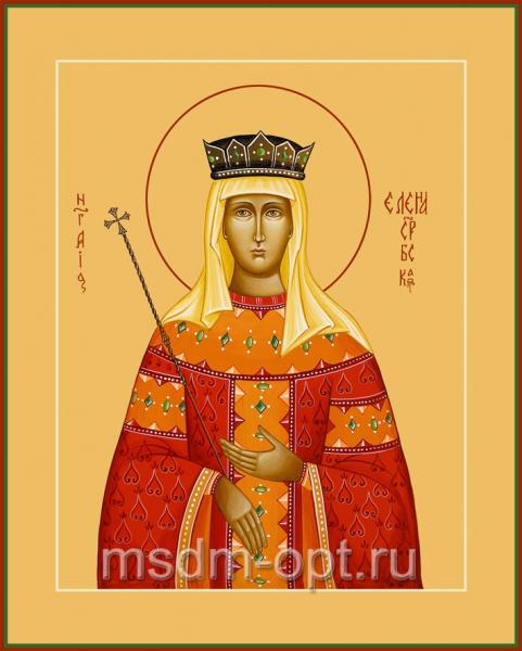 Елена Сербская благоверная княгиня, икона (арт.031)