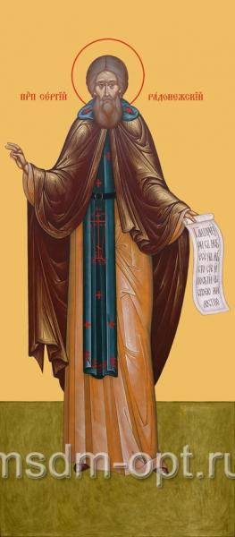Сергий Радонежский преподобный, икона (арт.035)