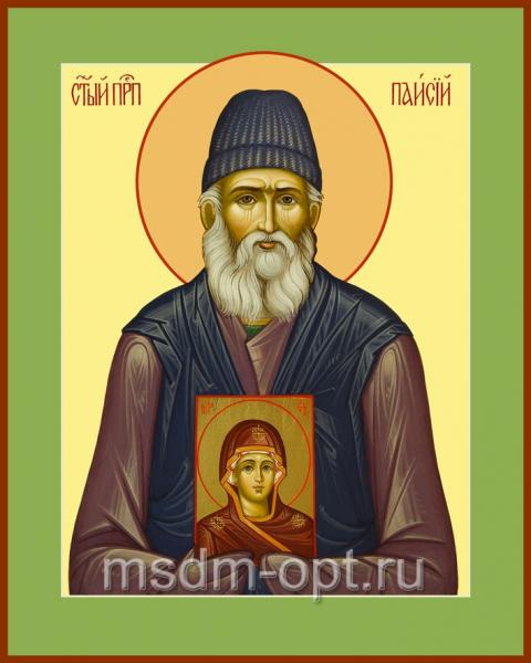 Паисий Святогорец преподобный, икона (арт.042)