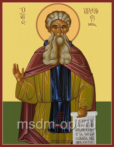 Арсений Великий преподобный, икона (арт.048)