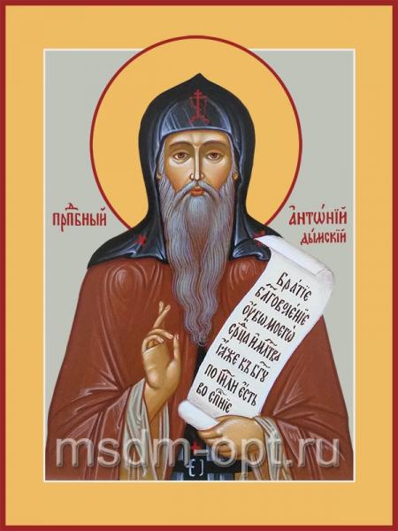 Антоний Дымский преподобный, икона