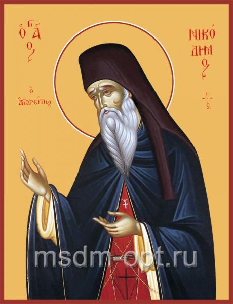 Никодим Святогорец, преподобный, икона (арт.052)