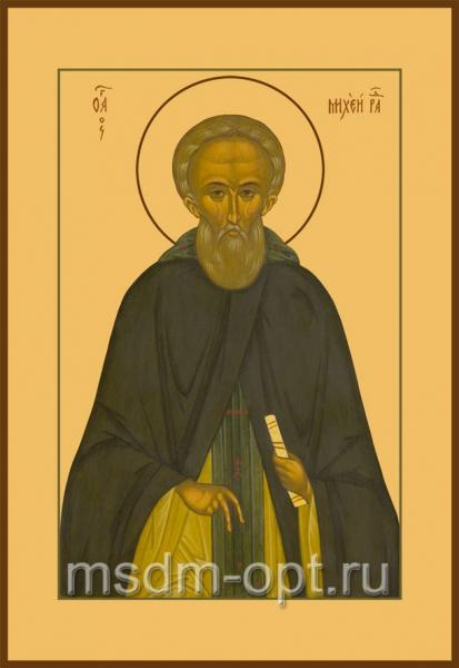 Михей Радонежский преподобный, икона (арт.054)