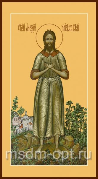 Алексий, человек Божий преподобный, икона (арт.055)