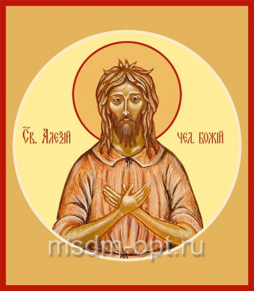 Алексий, человек Божий преподобный, икона