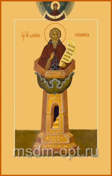 Даниил Столпник преподобный, икона (арт.061)