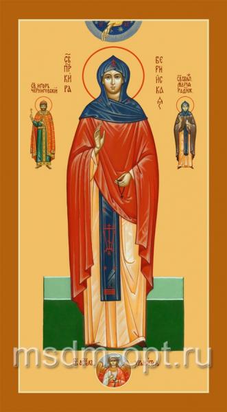 Кира Берийская (Македонская) преподобная, икона (арт.065)