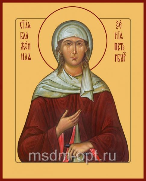 Ксения Петербургская блаженная, икона (арт.067)