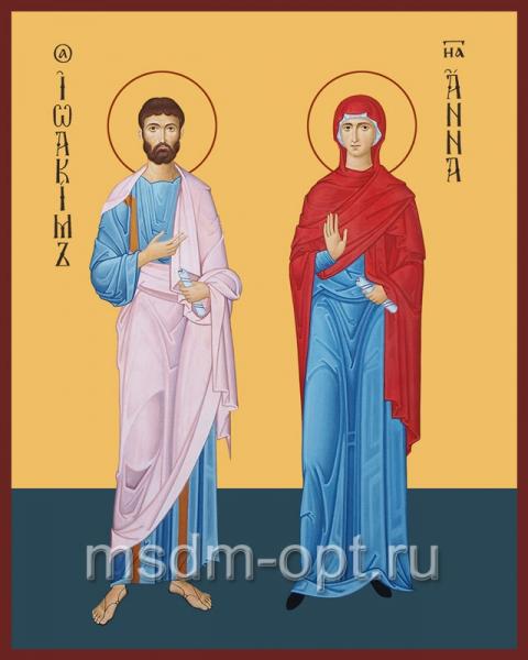 Иоаким и Анна праведные богоотцы, икона (арт.069)