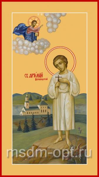 Артемий Веркольский праведный, икона (арт.079)