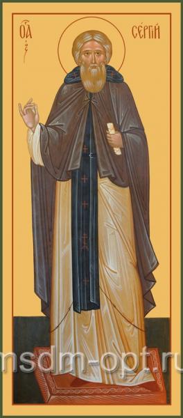 Сергий Радонежский преподобный, икона (арт.081)