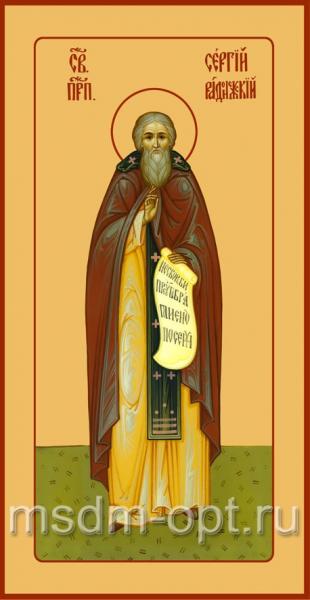 Сергий Радонежский преподобный, икона (арт.083)